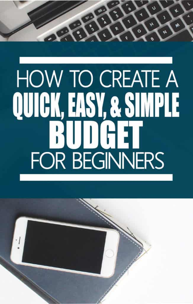 Do you need a quick and easy way to come up with a budget? Here is  an easy method that will take the insanity out of planning your money.