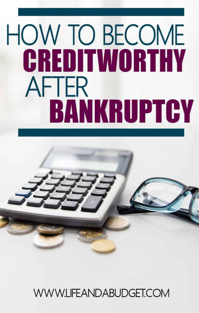 Becoming creditworthy after a bankruptcy isn't easy, but it's possible. Read more on how this writer recovered from financial ruin and how you can bounce back if you've been in the same situation.