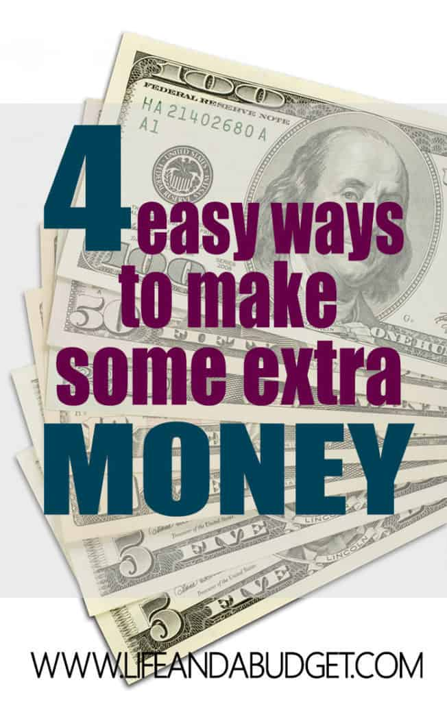 Want to make more money starting today? Here are 4 simple, easy ways to make more money starting today.
