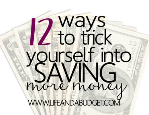 Are you constantly struggling to save more money? Well here are 12 ways you can trick yourself into saving more money. And did I mention they were painless. Don't miss out - pin it, read it, and get to saving!