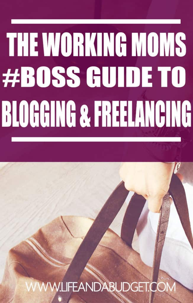 Think working moms don't want to build their own businesses, work full-time and maintain a family? Think again? Moms can do all of the above and this ultimate guide will show you how to freelance, blog, and work full-time.