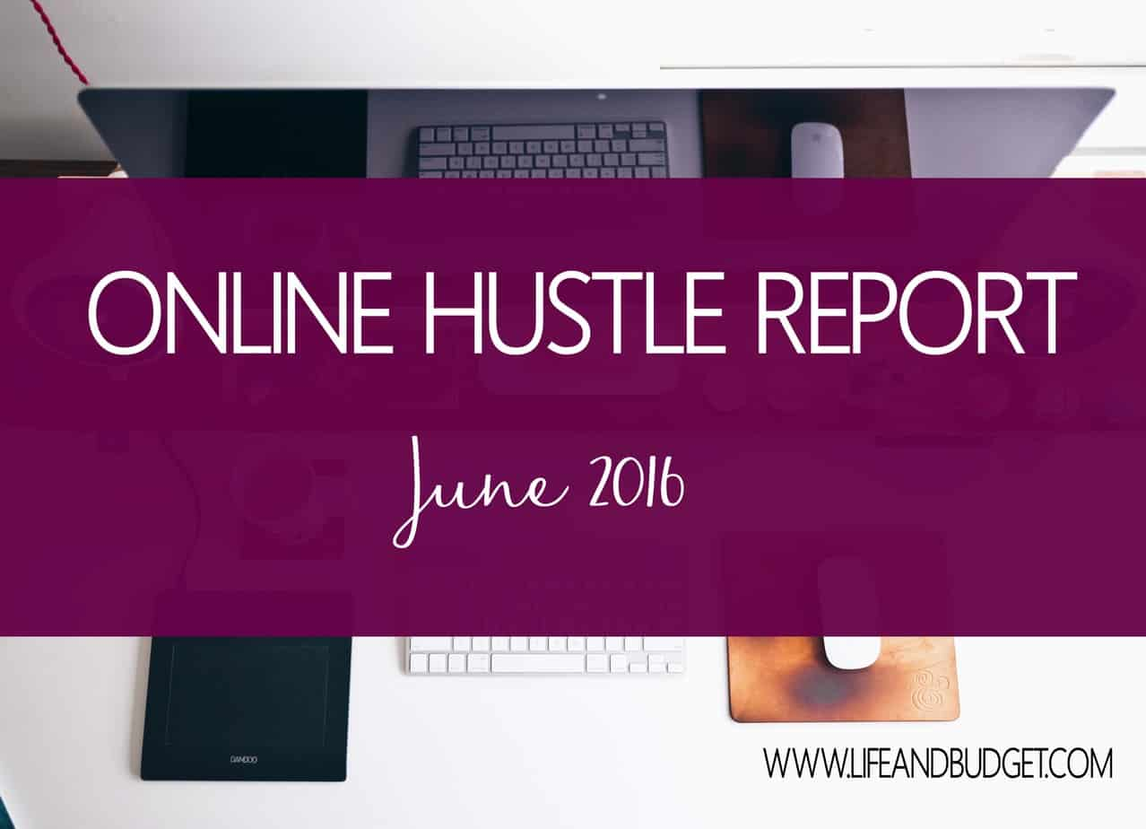June Online Hustle Report