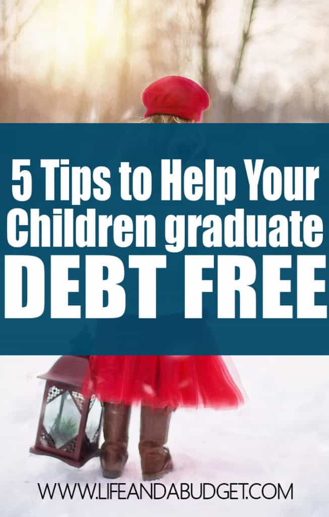 If you have kids, it's never too late or too early to create a plan to pay for college. Here are 5 tips to help your children pay for college, coming from someone who graduated debt free.