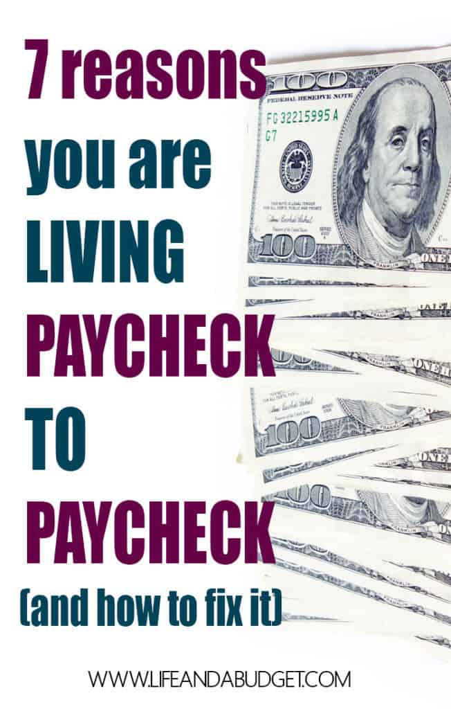 "To stop living paycheck to paycheck, you must understand the ""WHY"" of the matter. Then you can defeat living paycheck to paycheck. Read on to learn the why and how!"