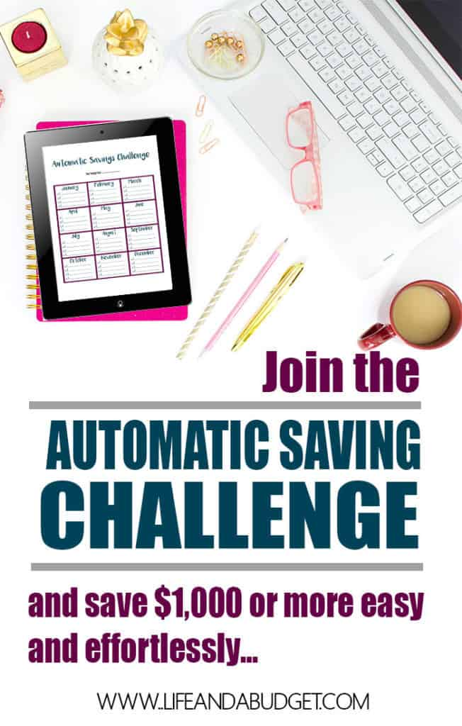 Trying to find a savings challenge that actually works? Well, here's one and it's effortless!