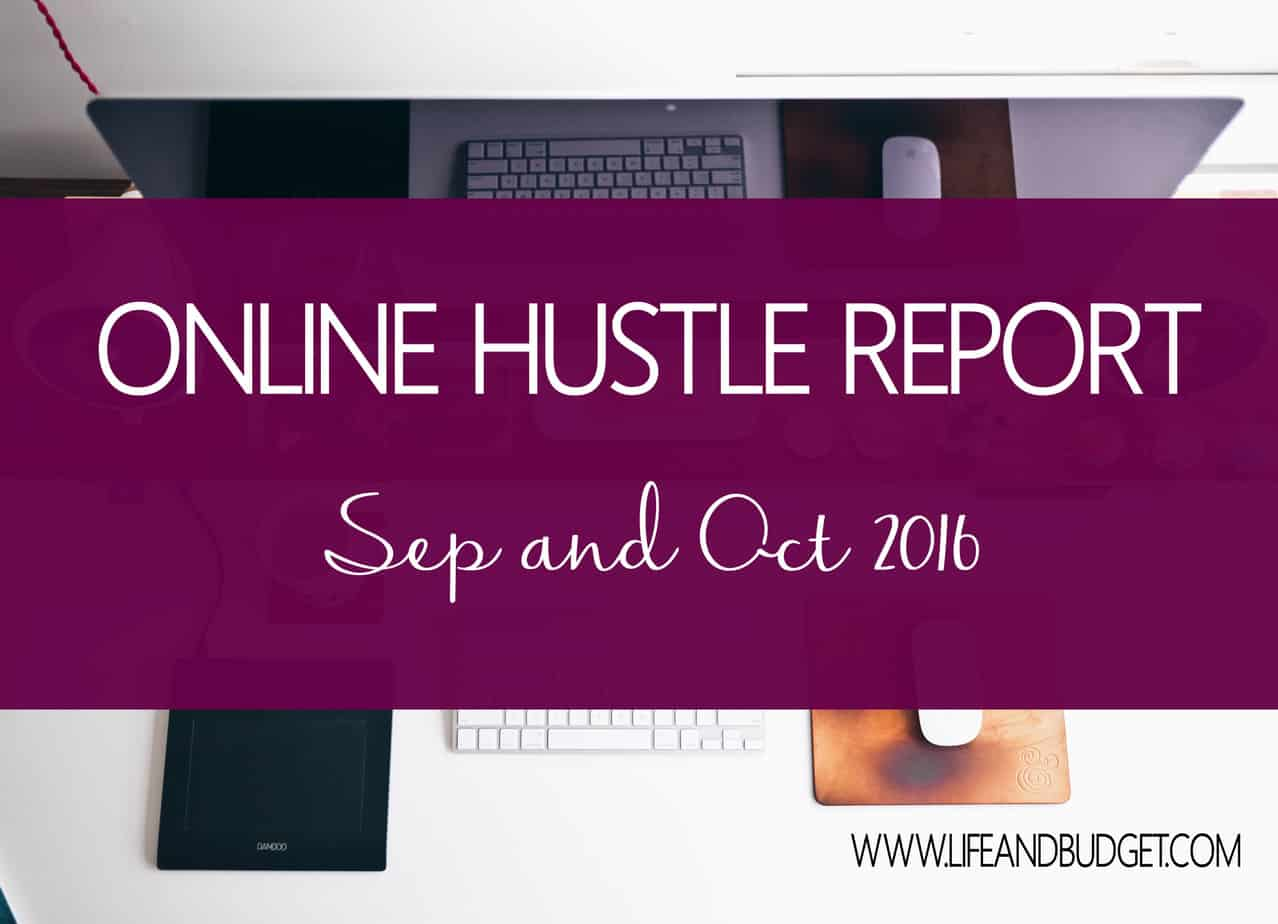 September and October 2016 Blog Income Report