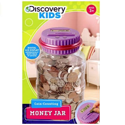 discovery kids coin counting money jar gift guide for kids
