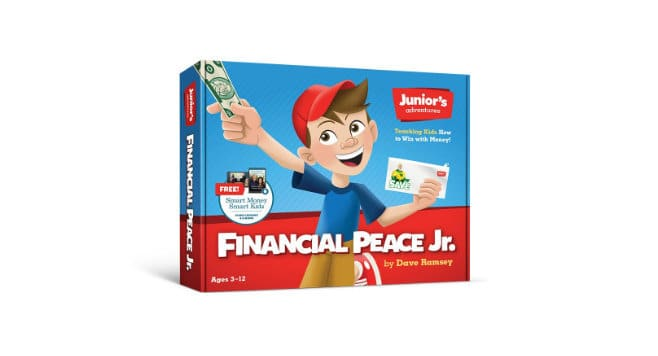 financial peace junior gift guide for kids