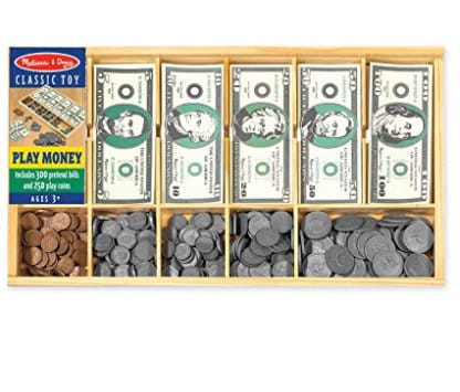 melissa and doug play money set gift guide for kids