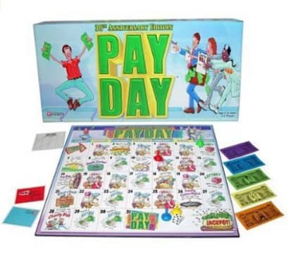 pay day board game gift guide for kids