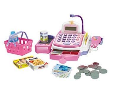 pretend play toy cash register gift guide for kids