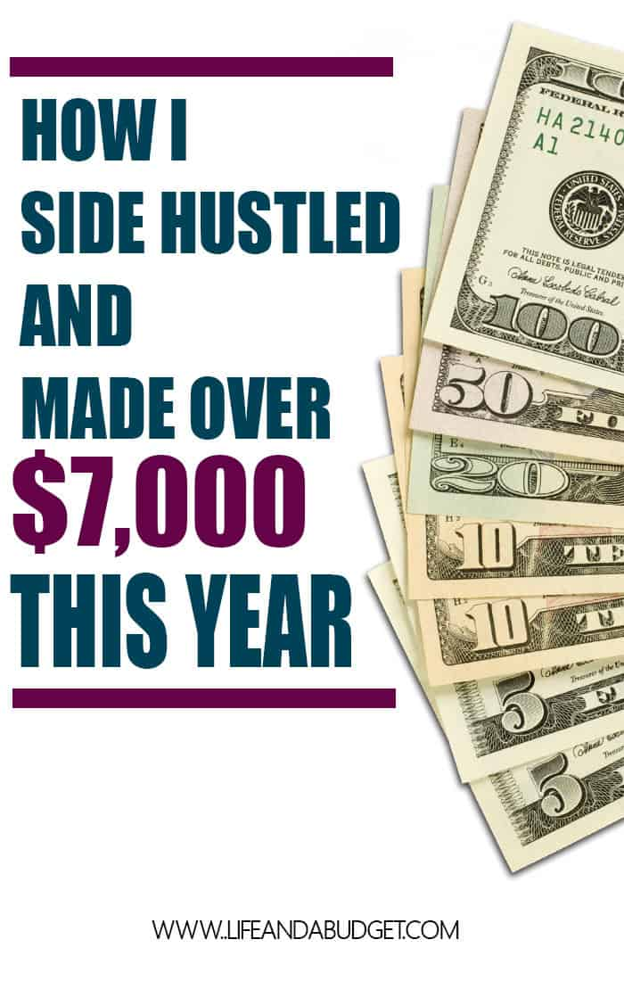 HOW I SIDE HUSTLED AND MADE OVER 7000 THIS YEAR