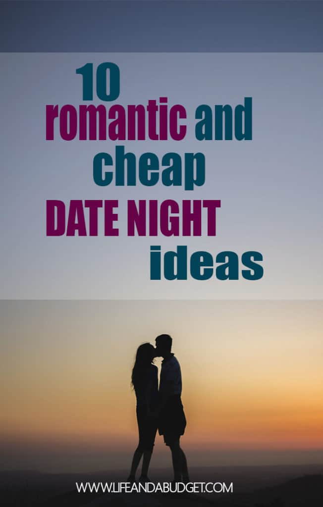 10 Cheap, creative, and romantic date night ideas for couples.