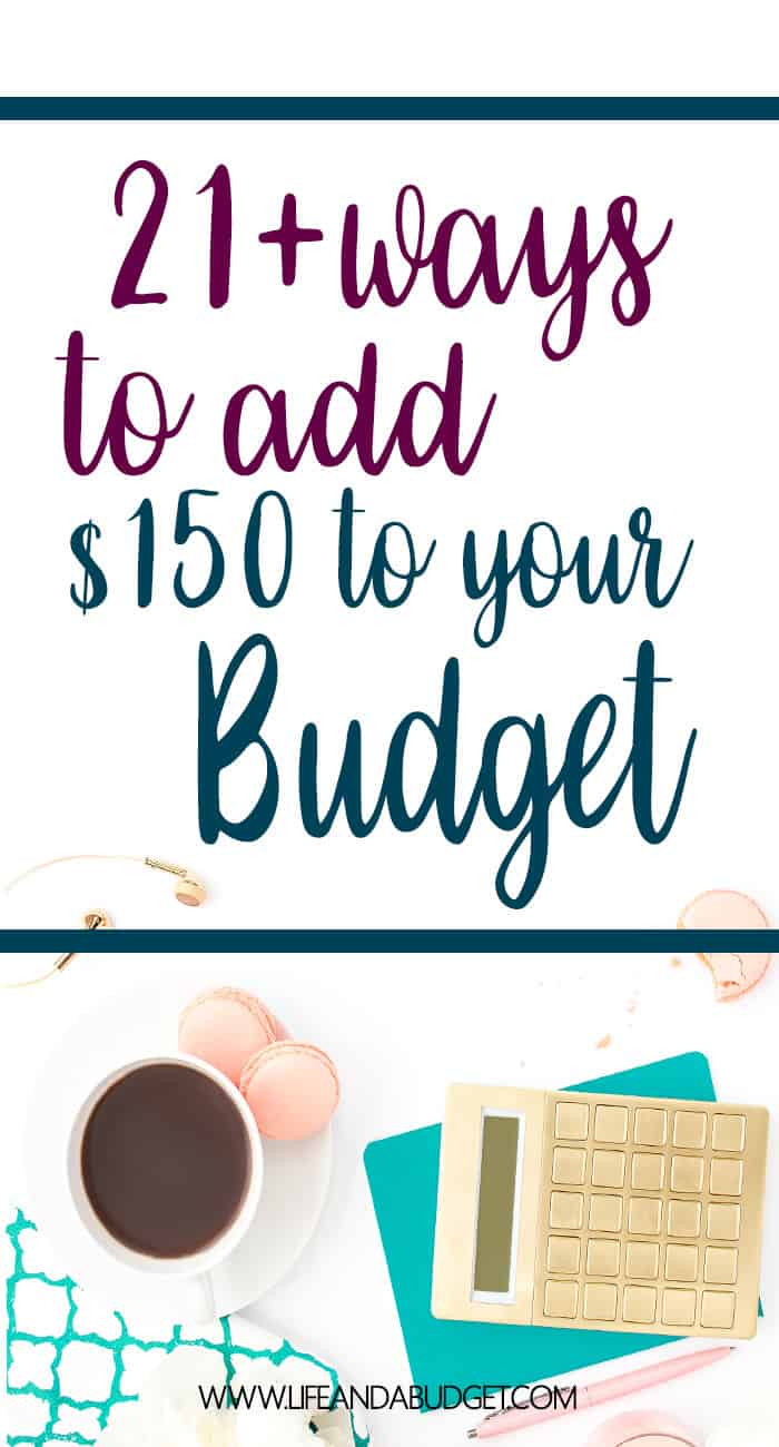 EARN EXTRA CASH 21 PLUS WAYS TO ADD 150 TO YOUR BUDGET