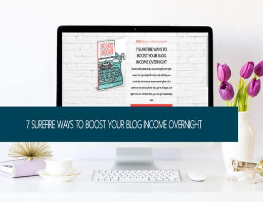 Are you ready to boost your blog income? This FREE e-book will help!