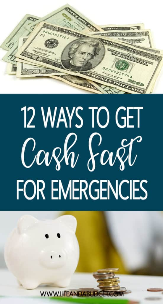 Here are 12 ways to build your emergency savings fast. Emergency savings money. Emergency money tips.