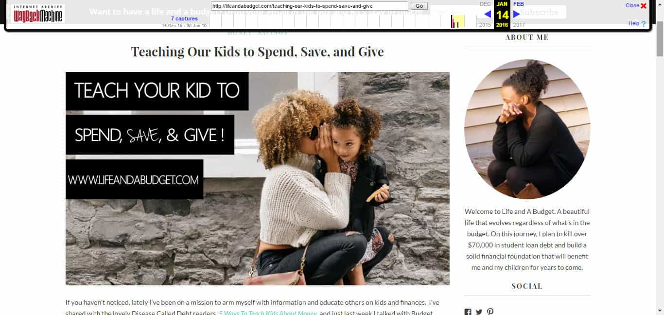 old teach kids to spend save give post