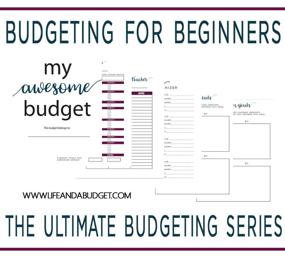 Budgeting For Beginners The Ultimate Budgeting Series