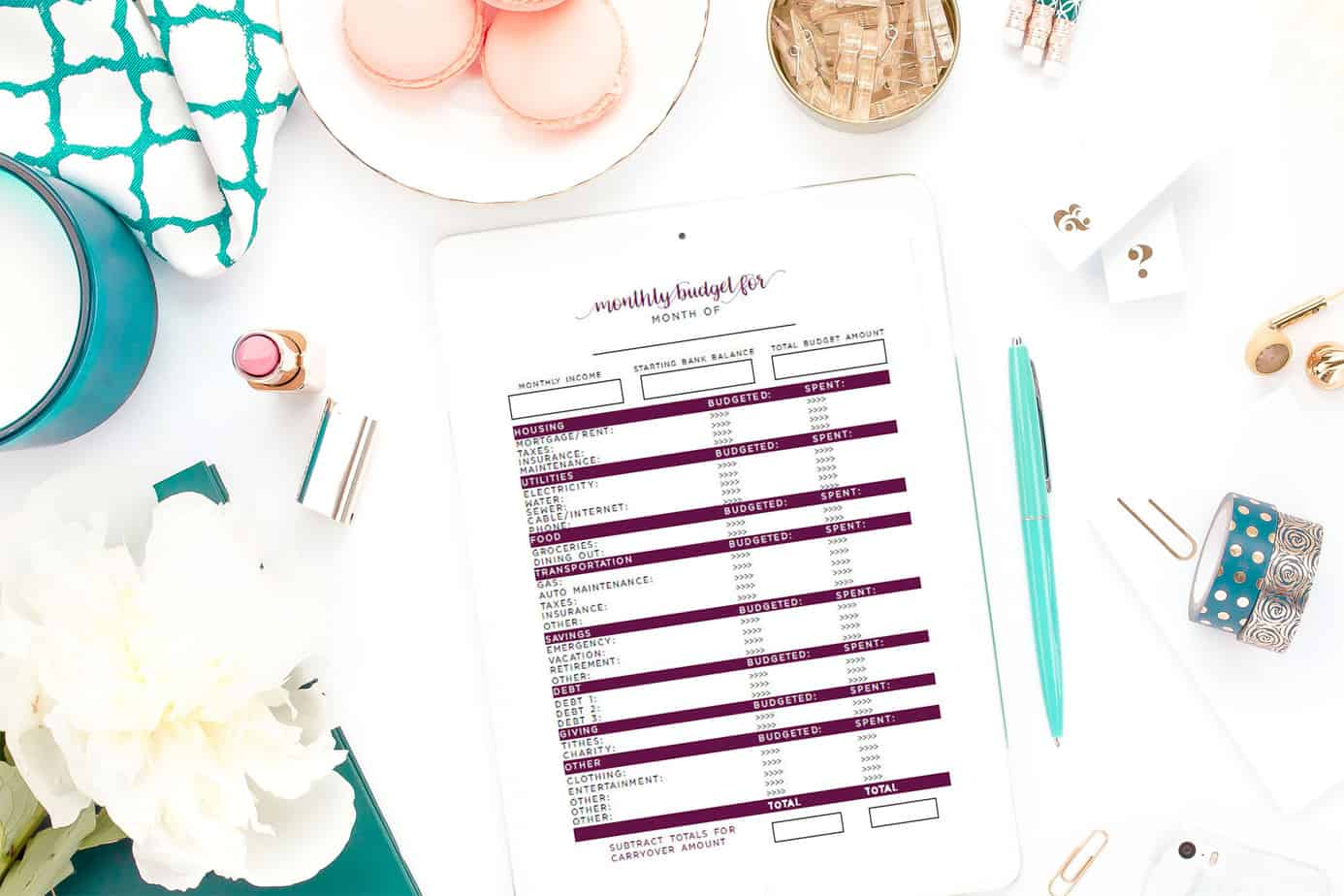 How to Use a Simple Budget Worksheet for Budgeting Success