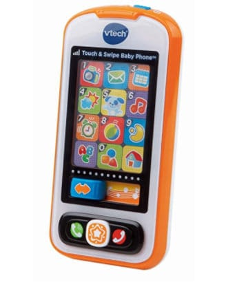 v tech touch and swipe phone