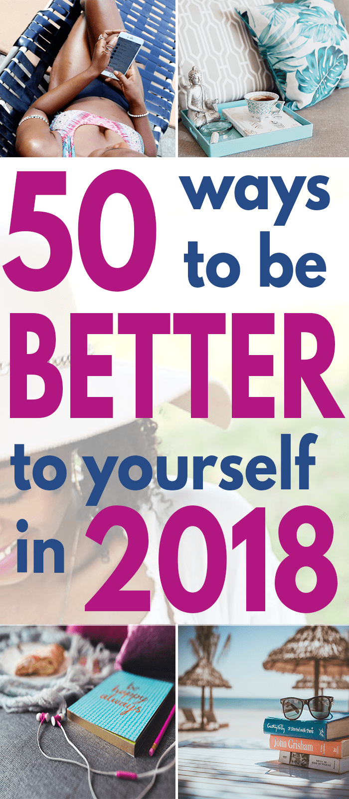 You can never have enough self-care ideas! Here are 50 ways you can be better to yourself!