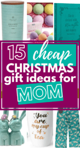 Cheap Christmas Gifts For Moms on a Budget - Life and a Budget