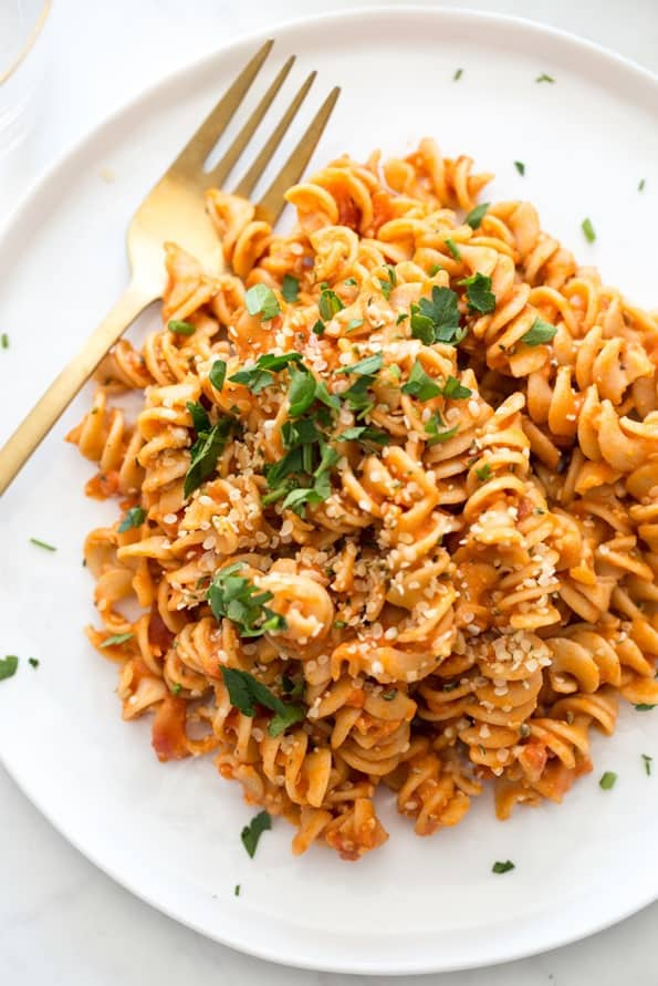 10 minute pasta meat free meals