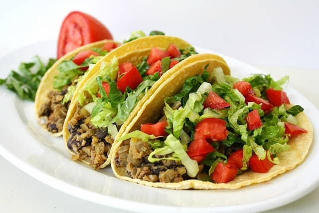 black bean lentil tacos meatless meals on a budget