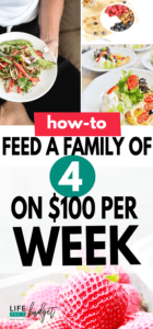 Feel like it's impossible to eat healthy on a budget? Well, it's not. Here's how one lady feeds her family of 4 on $100 per week!