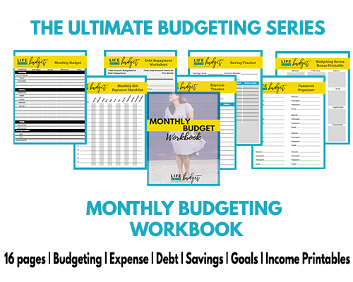 how to track monthly expenses so you can stick to your budget life
