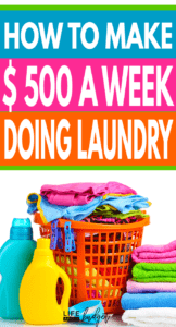 Make Extra Money With A Home Based Laundry Business Life And A Budget