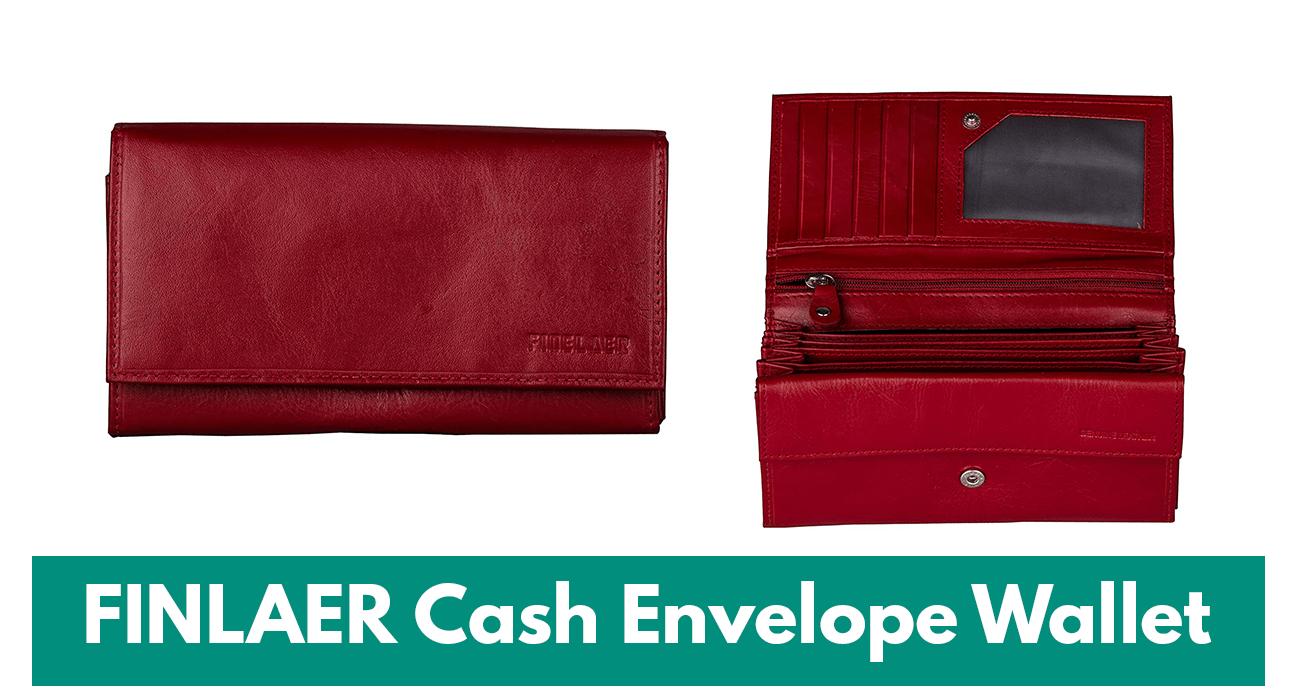 finlaer cash envelope wallet system