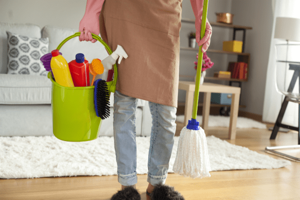 How to get free cleaning supplies without spending $100 in Target!