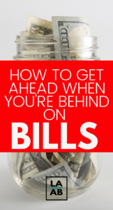 Being behind on bills is no fun at all. Luckily, regardless of whether you're a single mom living paycheck to paycheck or a one income family, there are ways to get ahead on bills even on a very tight budget. Read all of these great tips for living on a low income budget!