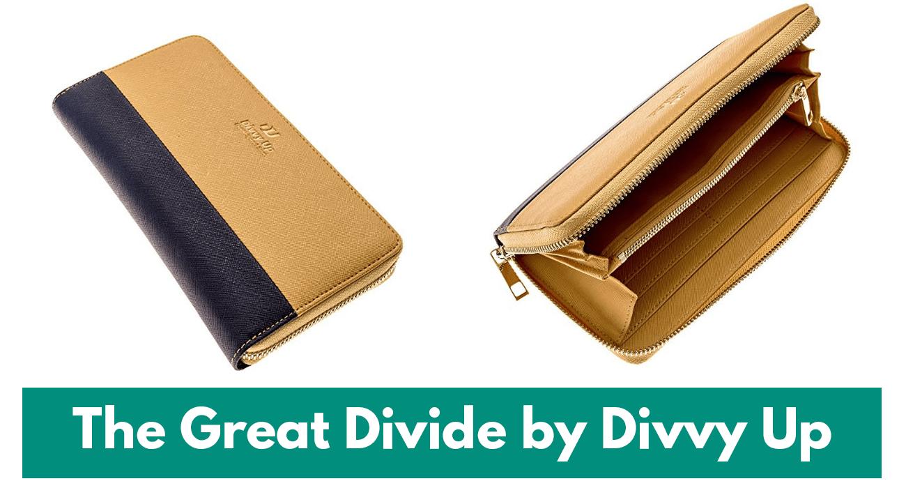 the great divide by divvy up cash envelope wallets