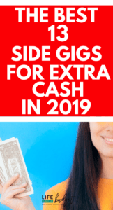 Looking for some ways to make extra money in 2019? Here is a short list of the absolute BEST ways to make extra cash in 2019. #extramoney #extracash #makeextramoney #sidehustles #sidehustle #sidehustling #moremoney #sidegigs #sidejobs