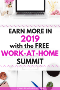 If you're looking for some great tips on how to get started in a work at home position, this FREE summit provides all sorts of ideas to help you earn more money in 2019 in some of these side hustles. Check out this post to register for the summit today!