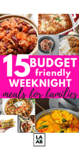 Are you tired of searching for the perfect budget-friendly weeknight meals for families? If so, check out these 15 insanely delicious midweek meals on a budget.