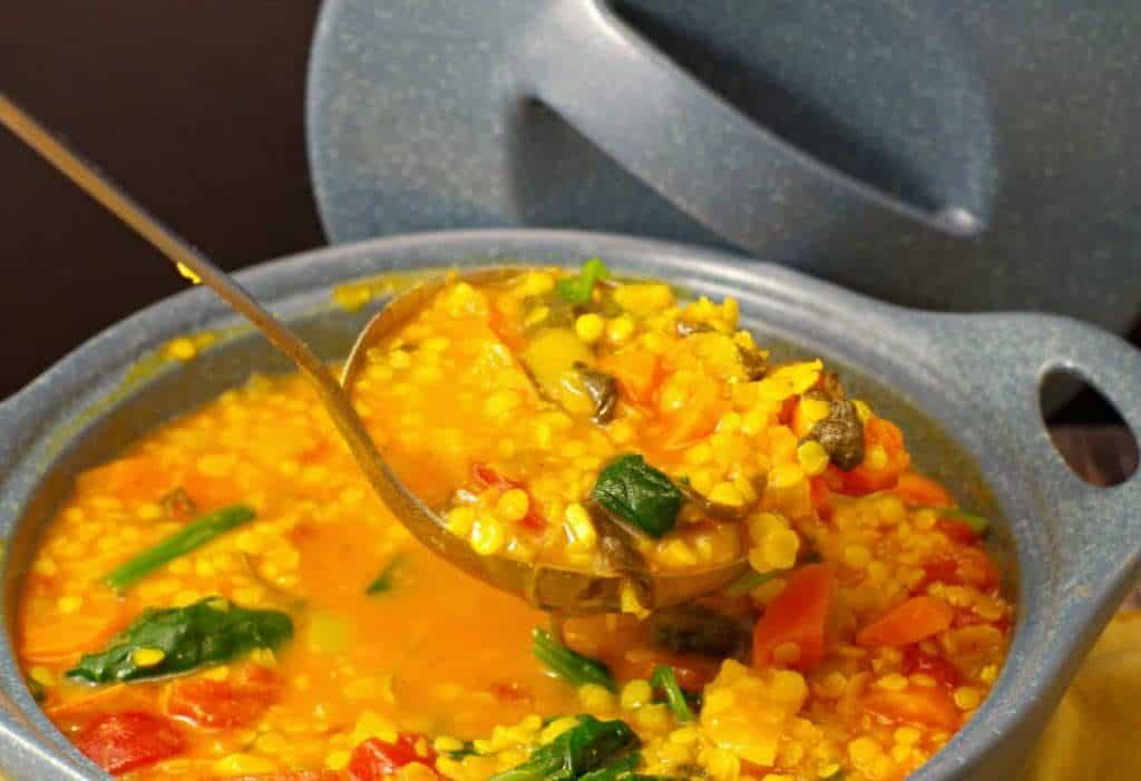 Easy Lentil Soup By Food Meandering
