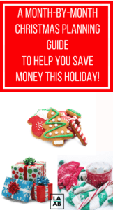 Prepare for Christmas early and have a stress free holiday with this free Christmas Prep Checklist, plus you'll save a lot of money!
