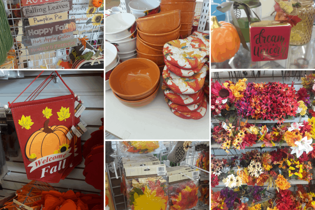 Dollar Store Fall Decor 25 Simple Fall Decorating Ideas Life And A Budget