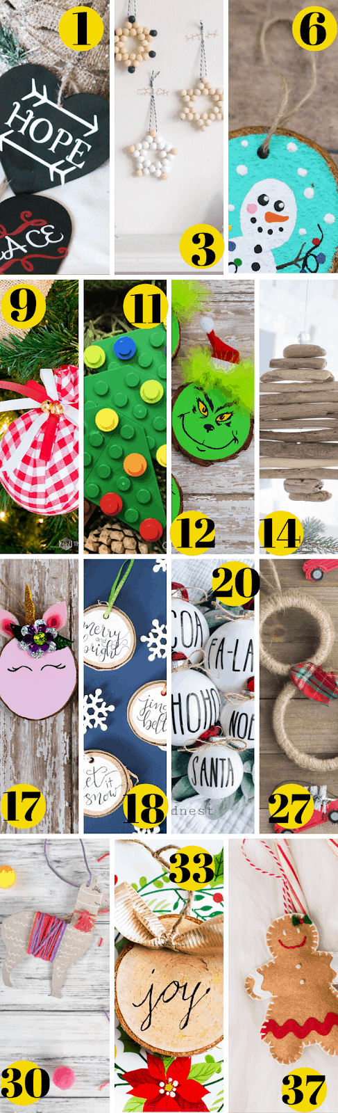30 Christmas Ornaments To Make And Sell Life And A Budget